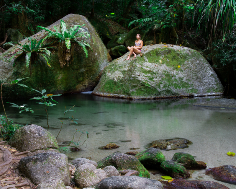 Relax at Mossman Gorge
