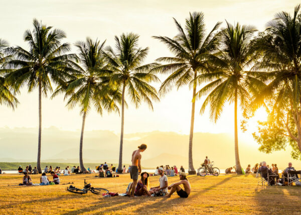 Sunset at Rex Smeal Park, Port Douglas - @riancope