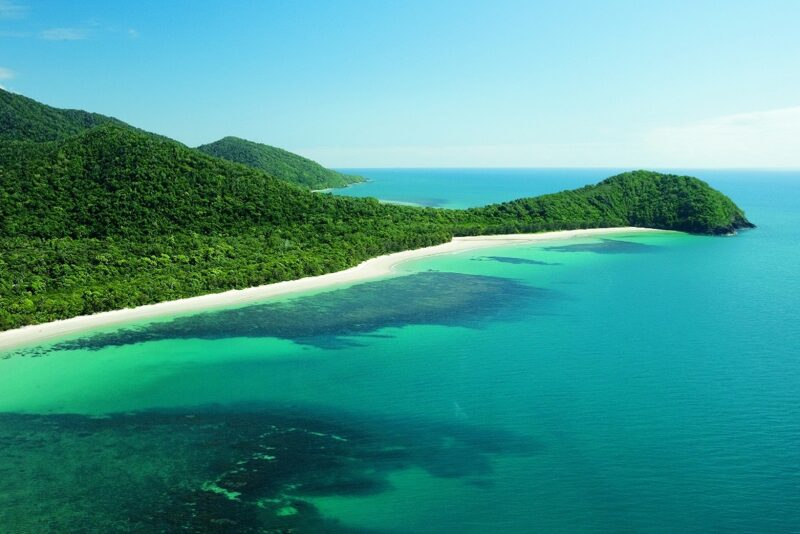 Daintree luxury blog Cape trib aerial