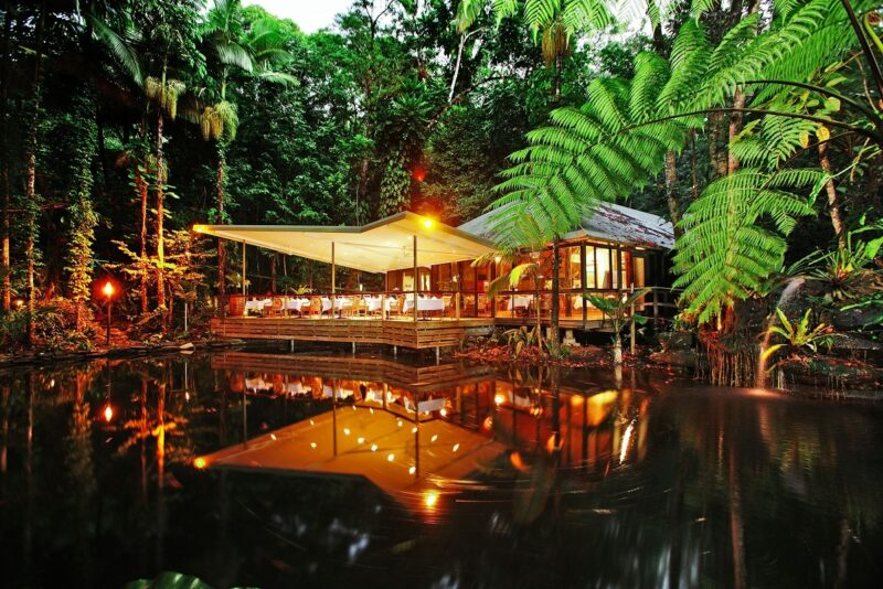 Daintree luxury blog Daintree Eco Lodge Restaurant