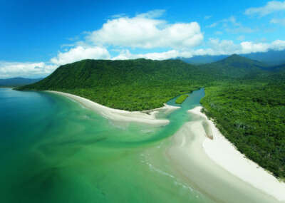 Daintree luxe blog hero emogen creek aerial